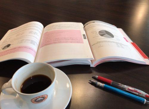 サンマルクカフェでIELTSの勉強
