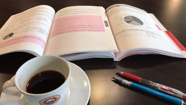 IELTS Study at cafe