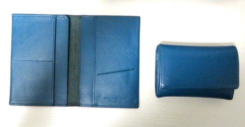 筆者が愛用するパスポートケースと名刺入れ