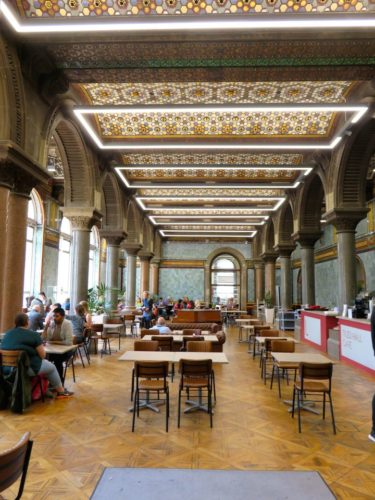 Cafe in the Leeds Art Gallery