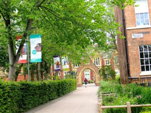 Campus of Leeds University