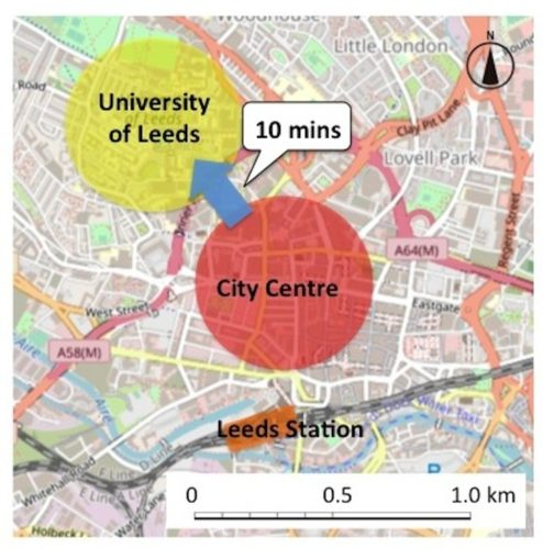 Centre to University of Leeds