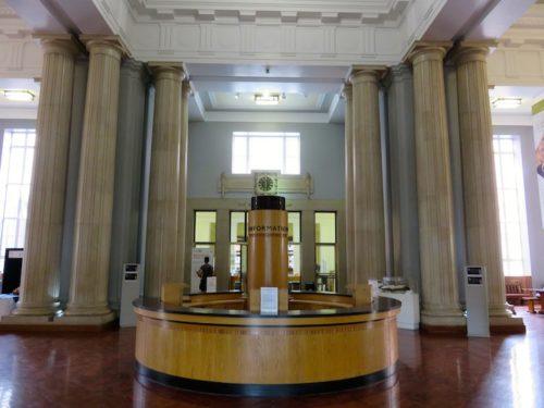 Indoor of the Parkinson Building