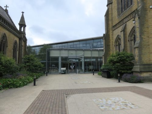 Leeds MBA Entrance, Maurice Keyworth building