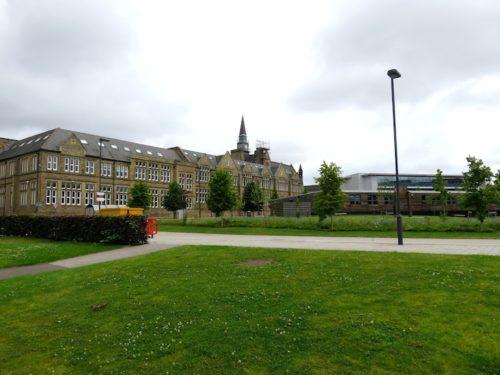 MBA building Leeds University