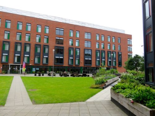 Storm Jameson Court, accommodation of Leeds