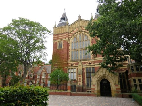 The Great Hall at University of Leeds