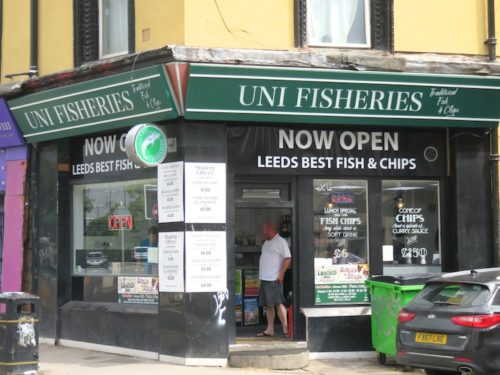 UNI FISHERIES at Leeds