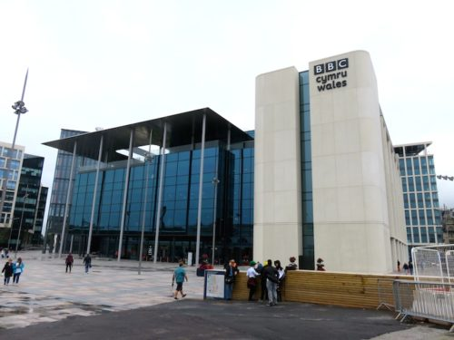 BBC Wales headquarters building