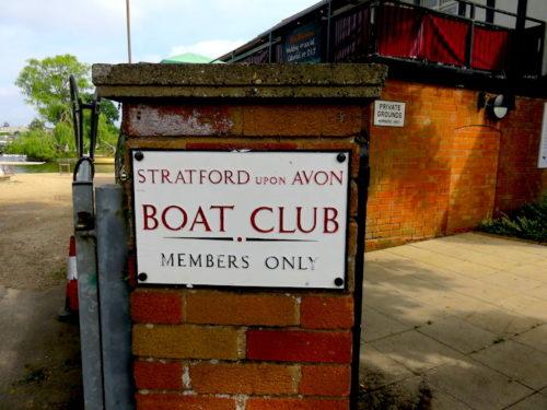 Boat Club at Stratford