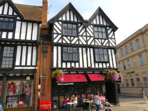 Cafe COSTA at Shakespeare Birthplace