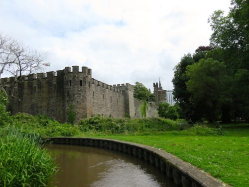 Cardiff Castle and Bute Park