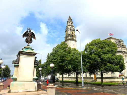 Cardiff around City Hall