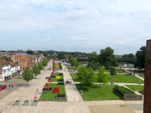 Cityscape in Stratford-upon-Avon
