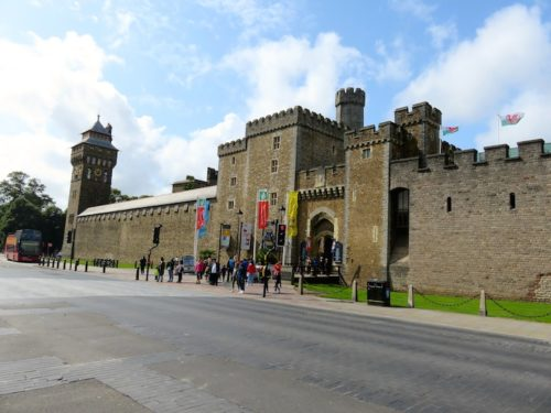 Entrance of Cardiff Castle
