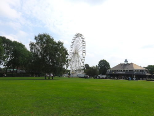 Ferris Wheel and Park in Stratford-upon-Avon