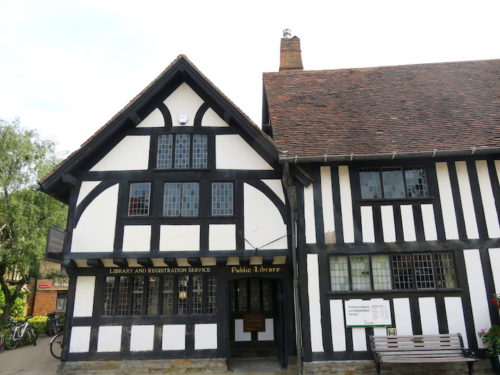 Library at Shakespeare Birthplace