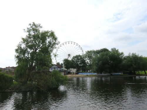 River Avon and Ferris Wheel