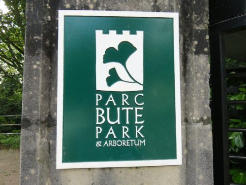 Sign Board of Bute Park