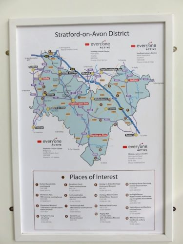 Stratford-upon-Avon District Map