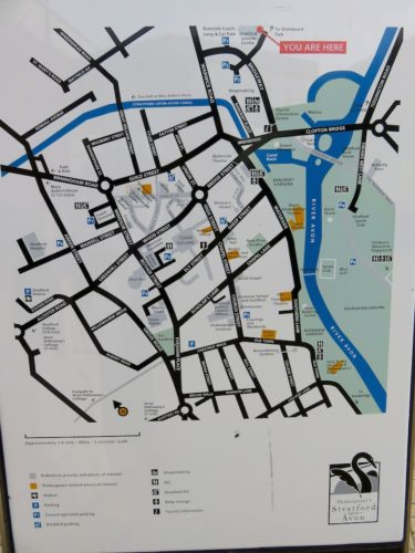 Stratford-upon-Avon_Town Centre Map