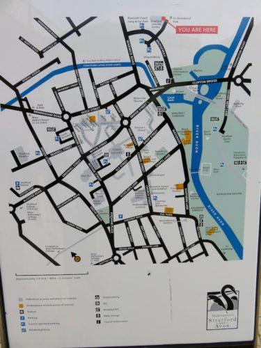 Stratford-upon-Avon_Town Centre Map