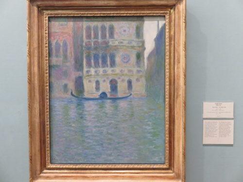 The Palazzo Dario, Monet in National Museum Cardiff