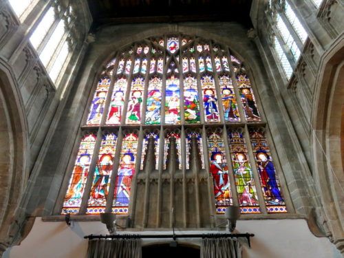 The interior of Church of the Holy Trinity, Stratford-upon-Avon_2