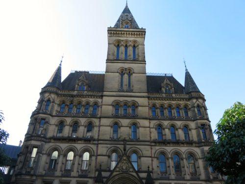 マンチェスター市庁舎の側面