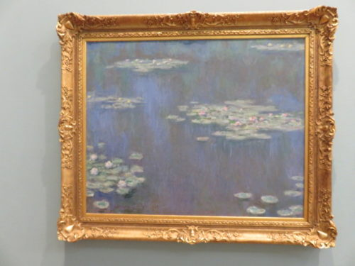 Water Lilies, Monet in National Museum Cardiff