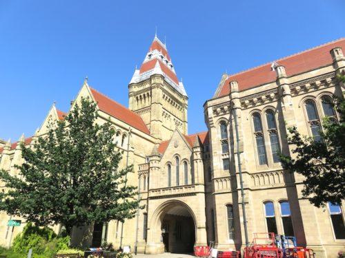 マンチェスター大学のキャンパス