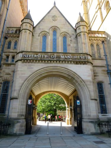 The University of Manchester, entrance