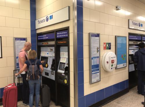 heathrow_terminals station Ticket counter