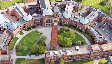 バーミンガム大学のキャンパス