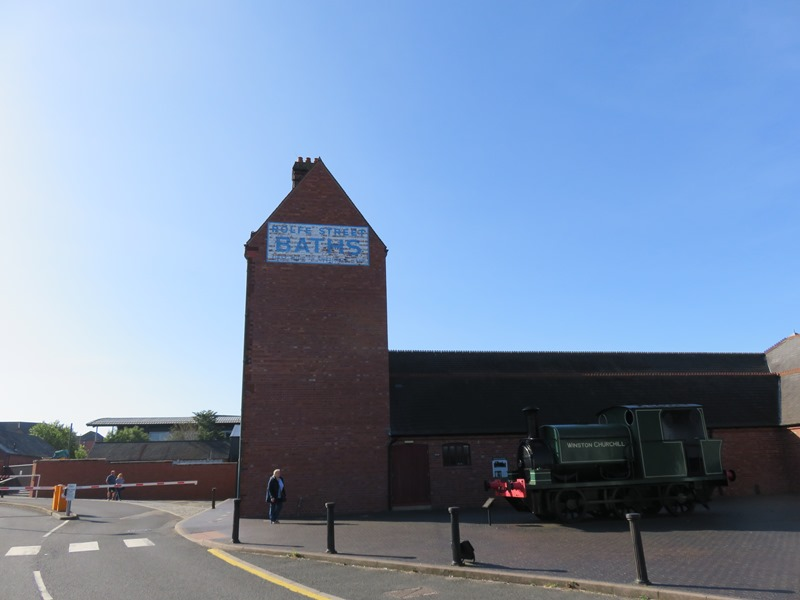 ブラックカントリー生活博物館入り口前の建物