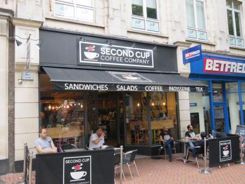 Second Cup, cafe, Birmingham