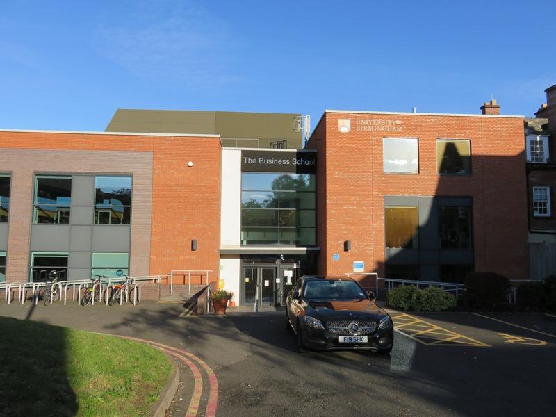 バーミンガム大学ビジネススクールの校舎