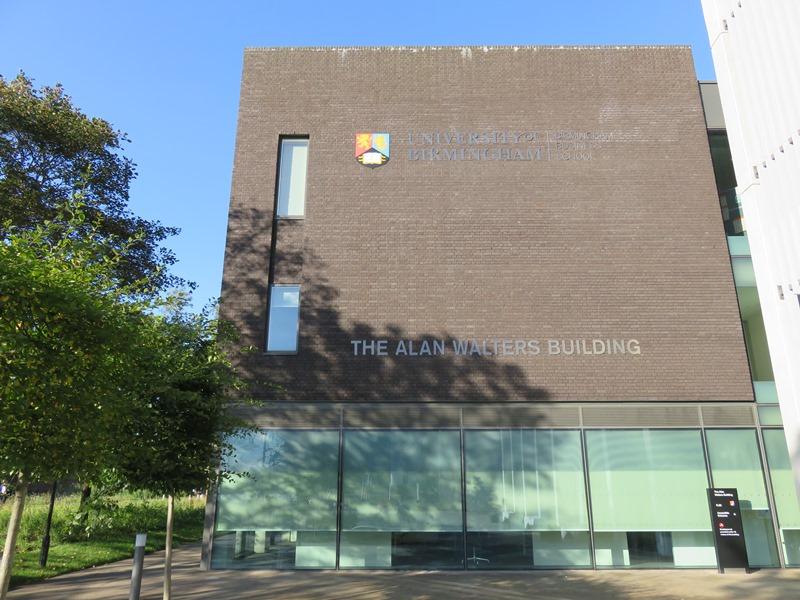 バーミンガム大学ビジネススクールの新しい施設(The Alan Walters Building)
