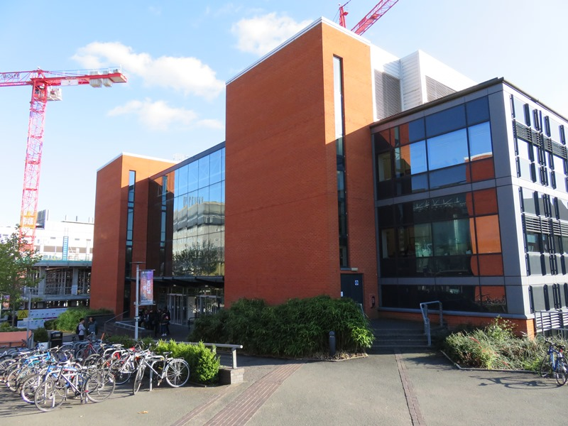 バーミンガム大学のコンピューターサイエンス棟