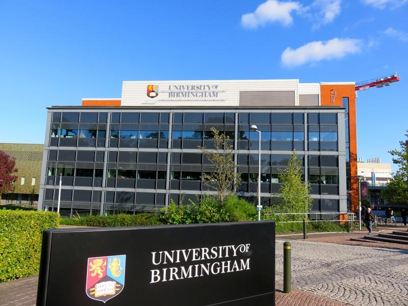 バーミンガム大学のウエストゲートとラーニングセンター