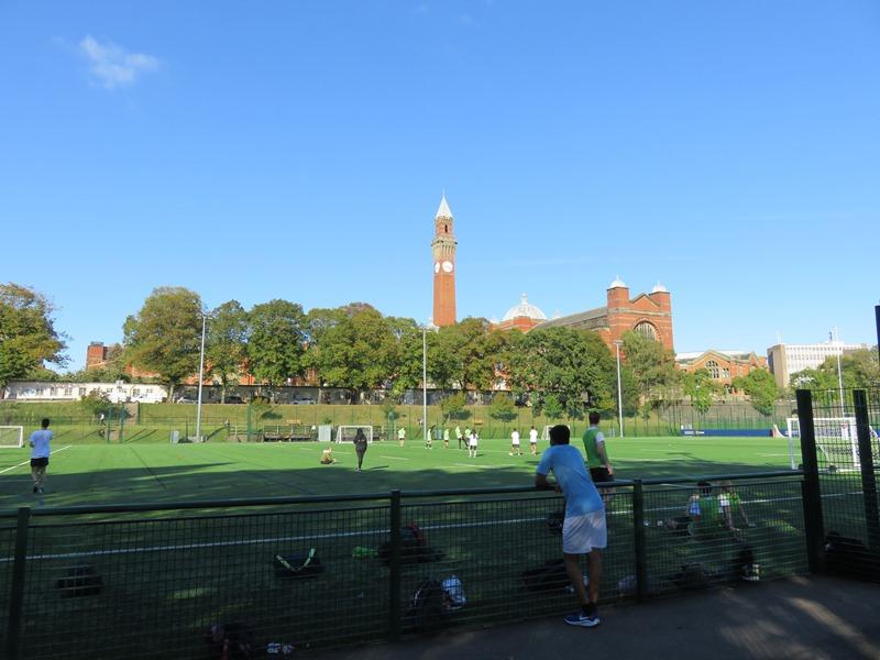 バーミンガム大学のスポーツ場