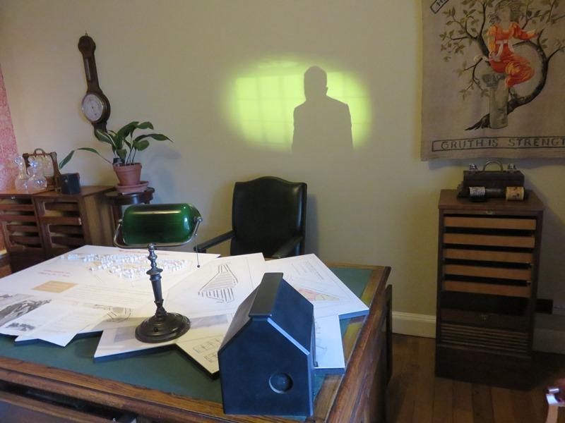 ウィンターボーン・ハウスの書斎
