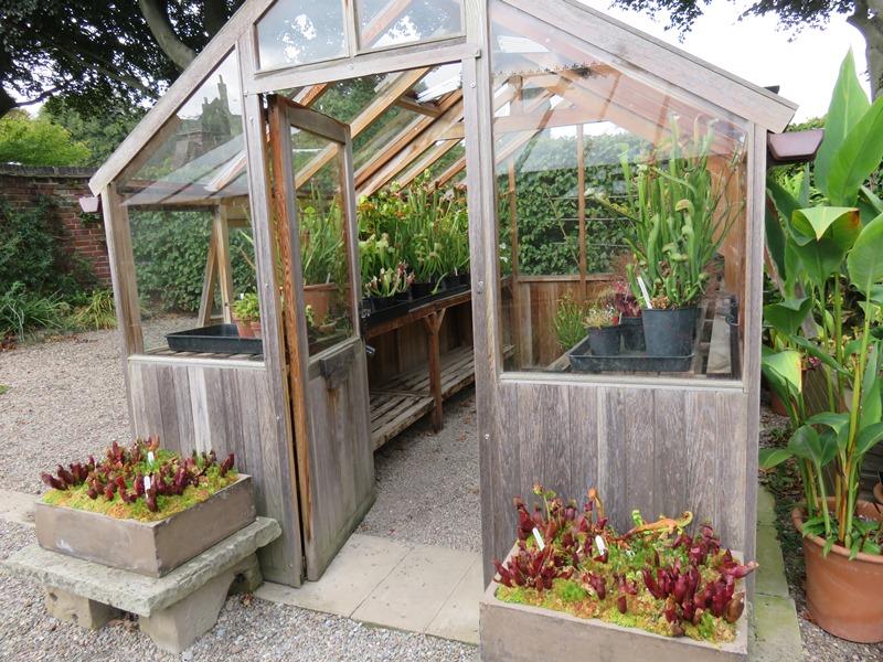 ウィンターボーン・ハウスガーデンの温室グラスハウス