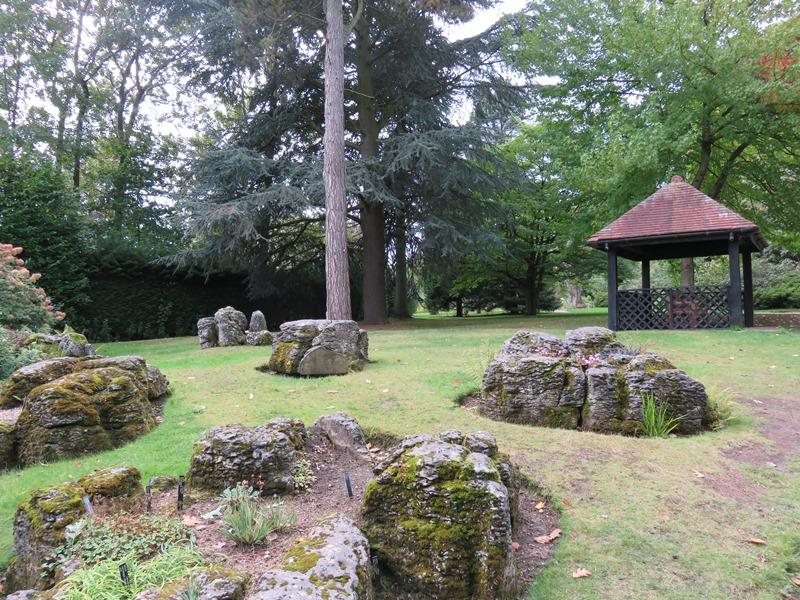 ウィンターボーン・ハウスガーデン石庭