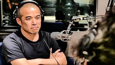 ラジオをする田端信太郎