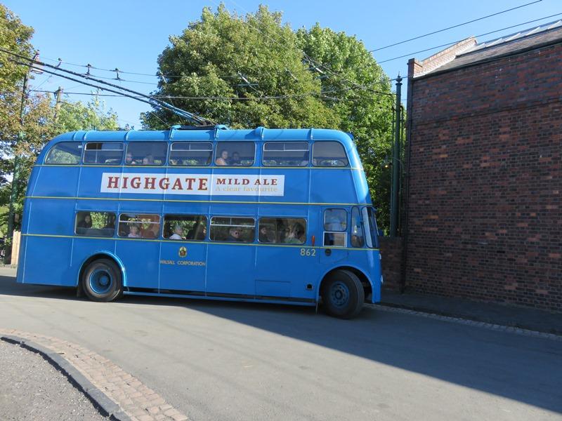 ブラックカントリー生活博物館のバス