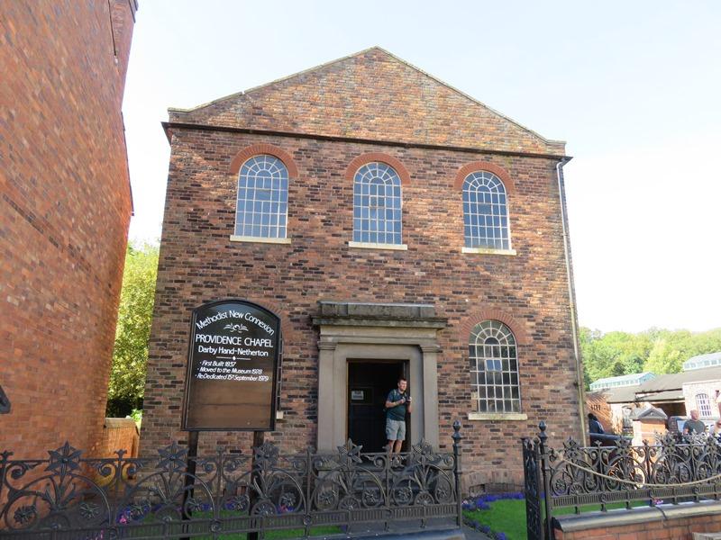 ブラックカントリー生活博物館の教会