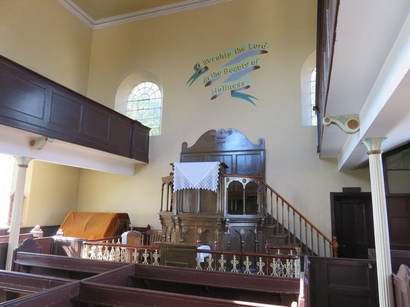 ブラックカントリー生活博物館の教会内観