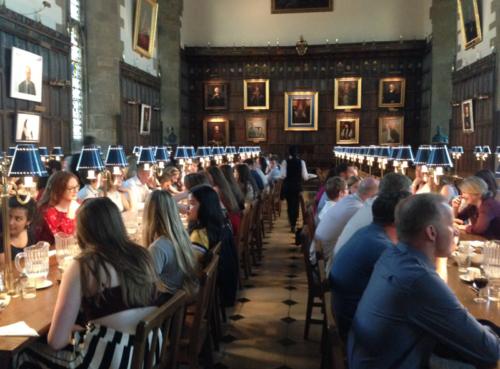 オックスフォード大学のフォーマルディナー