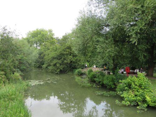 オックスフォード大学の庭園